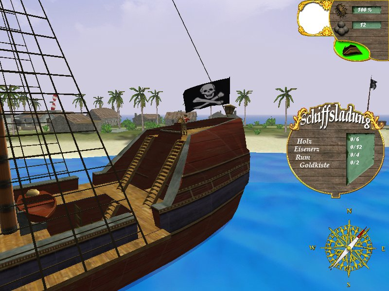 Screenshot für PiratenZong